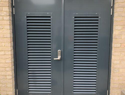 ABC Maintenance – New Steel Bin Doors