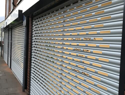 Abbeymead Dental Centre  – Sentry 75 Steel Roller Shutter