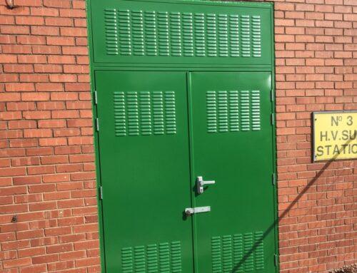 Combat Sub-Station Steel Door