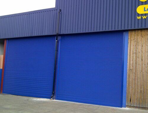 AW Champion – Steel-Guard Industrial Roller Shutter in Maldon